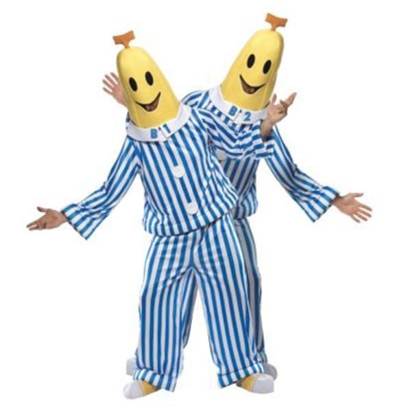 Bananer i pyamas