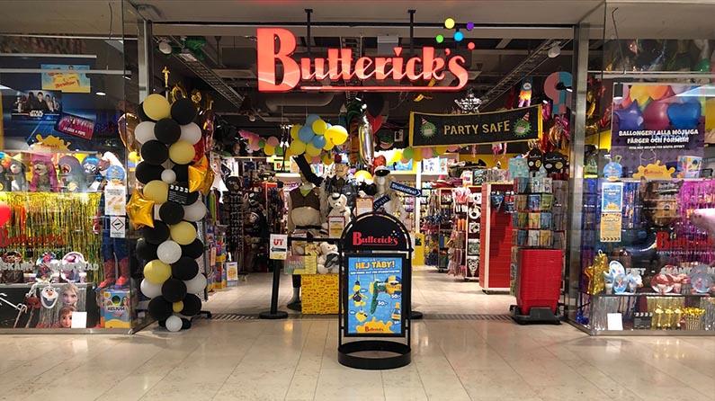 Buttericks Täby Centrum