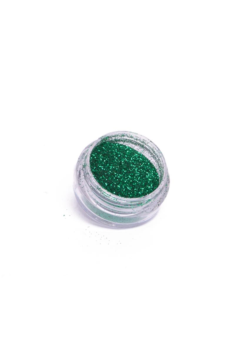 Kroppsglitter, grön 5 ml