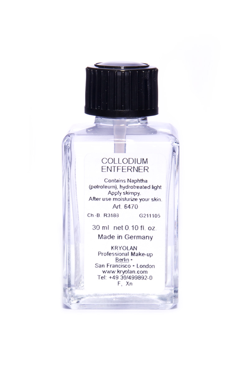 Collodium, remover