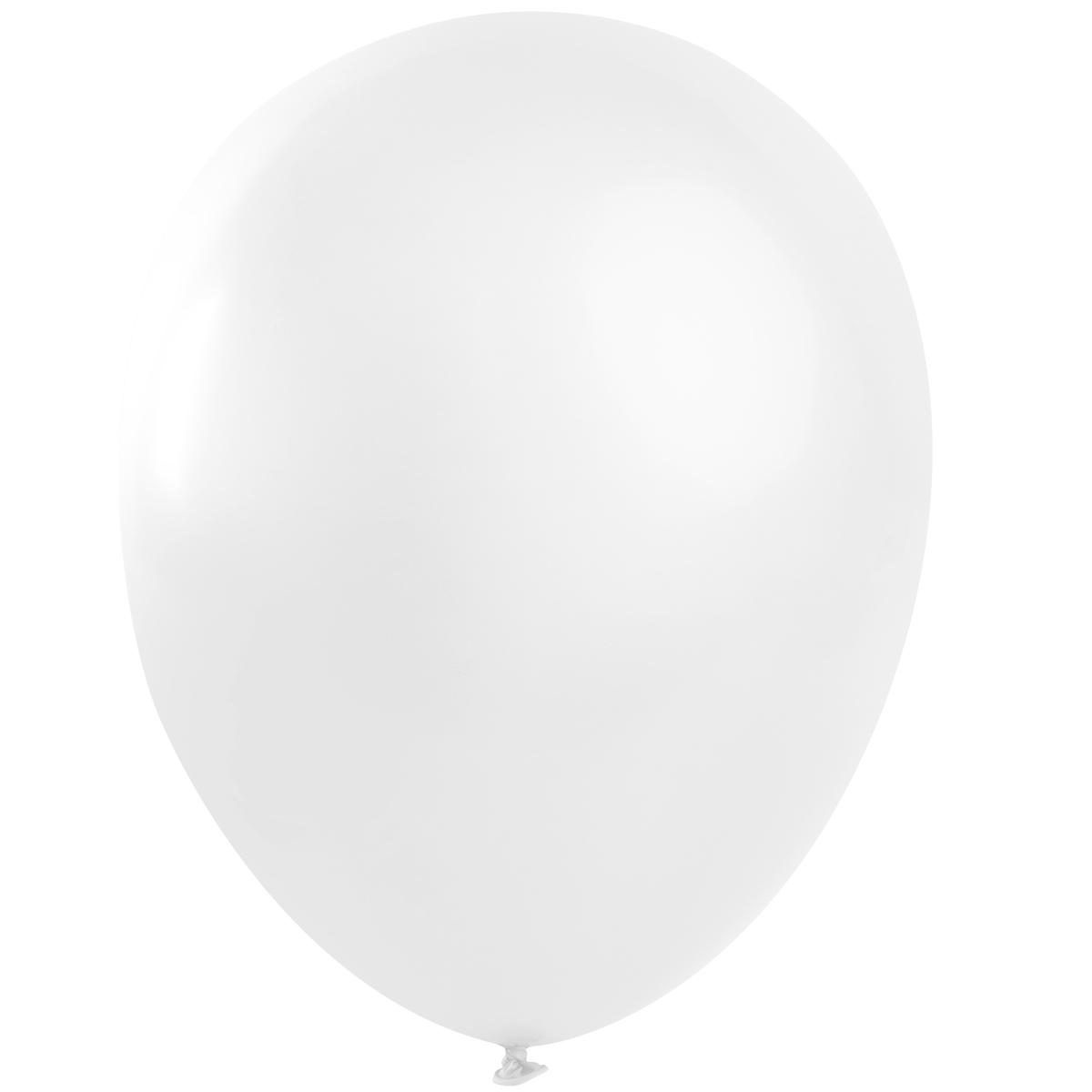 Ballong lösvikt, Vit