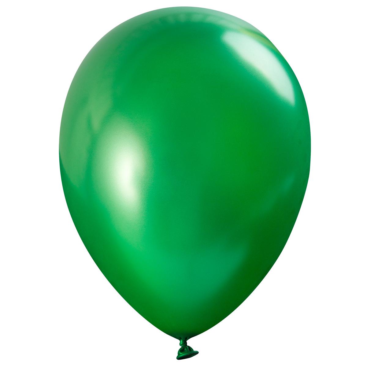 Ballong lösvikt metallic, Grön