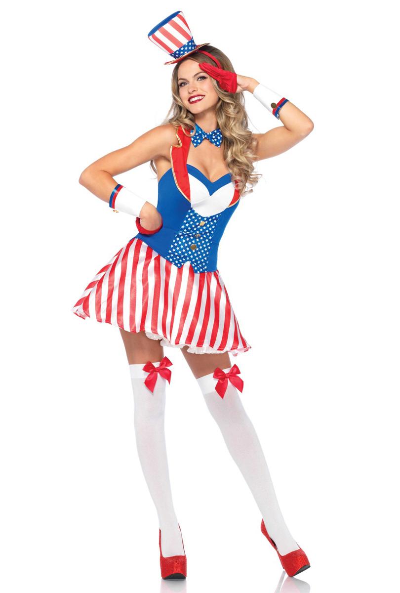 Dräkt, Patriotklänning