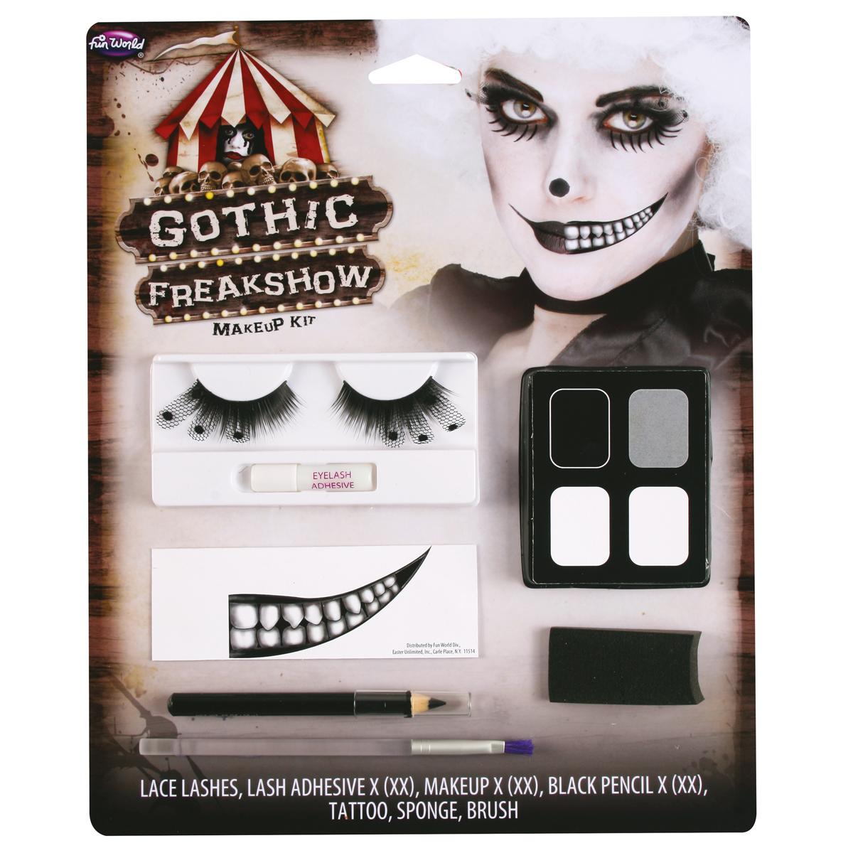 Freak show makeup