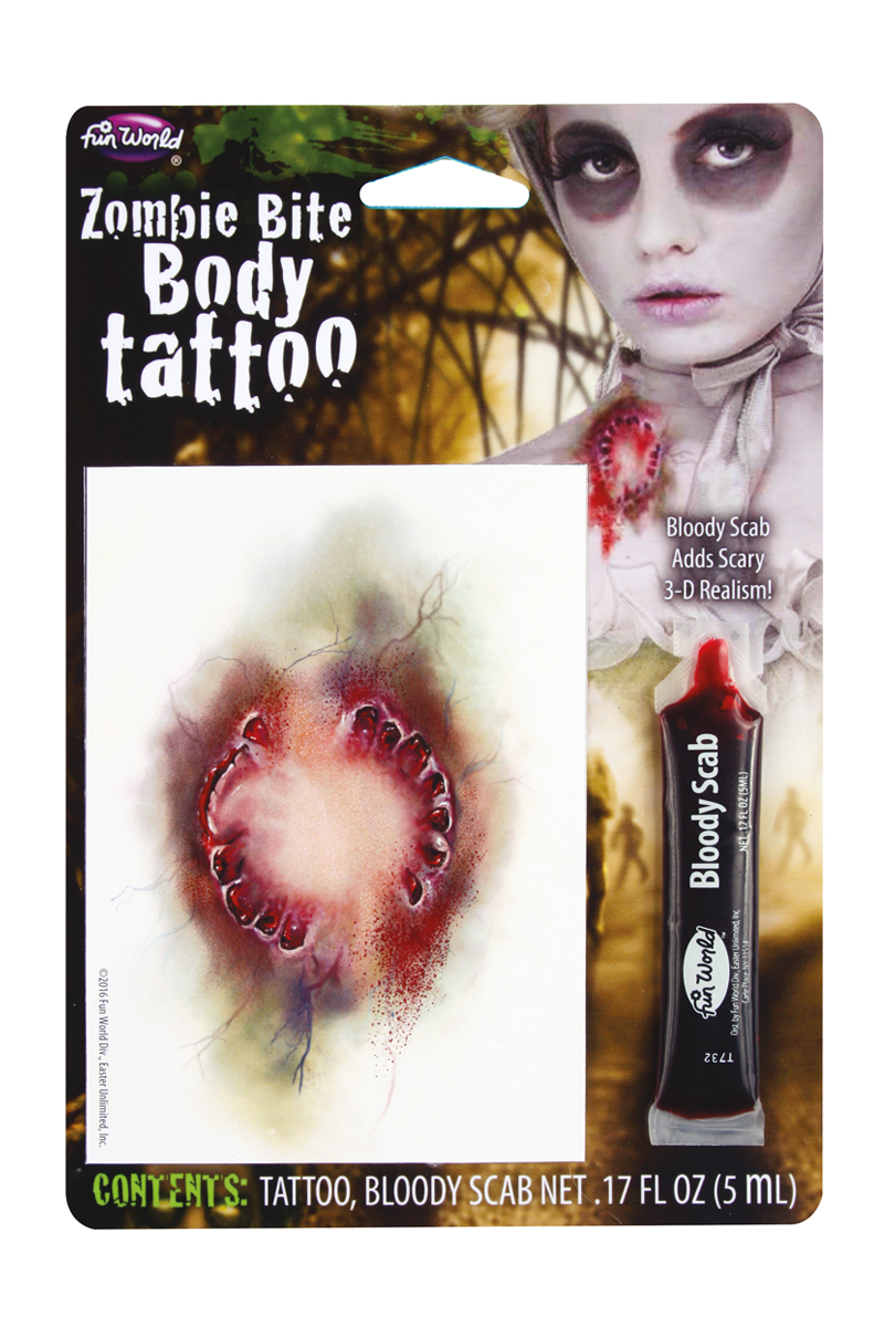 Tatuering, Zombiebett