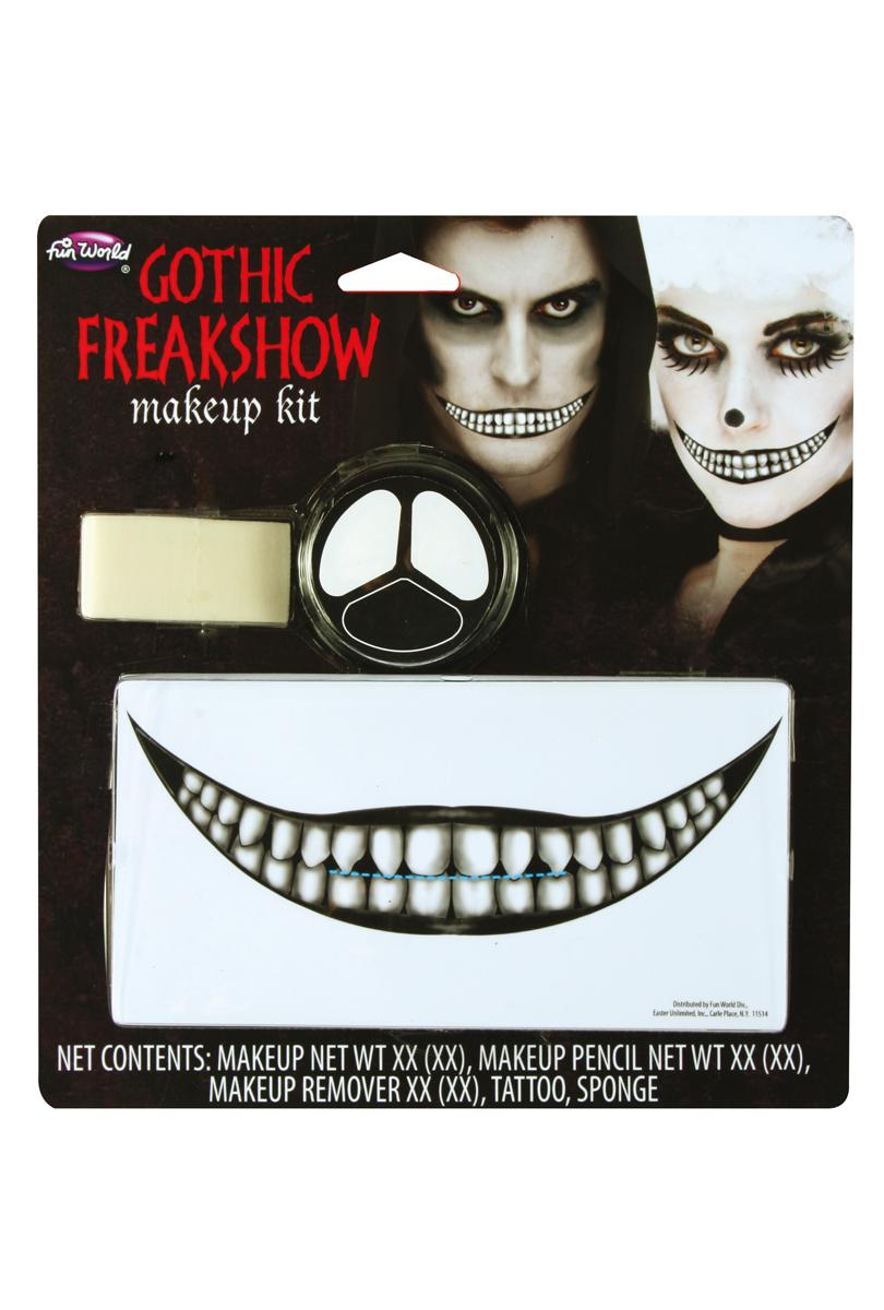 Gotisk Freakshow makeup