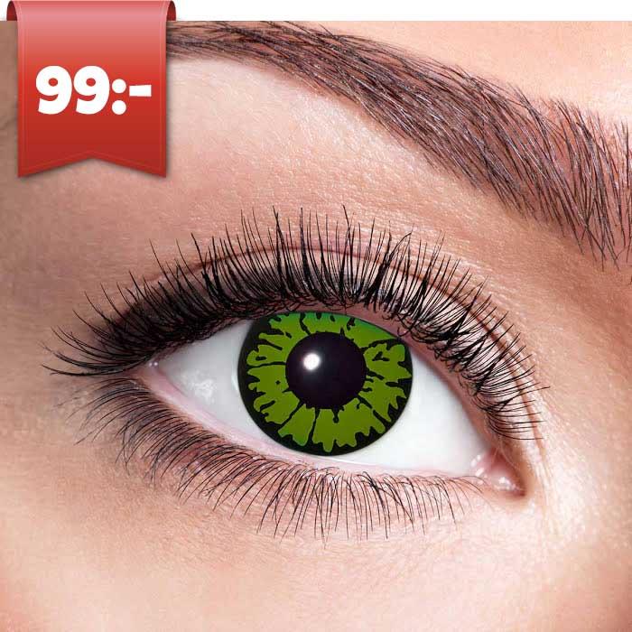 färgade årslinser utan styrka