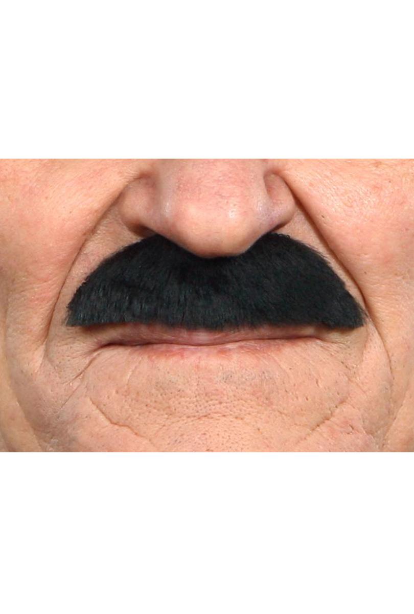 Mustasch Buskig, svart