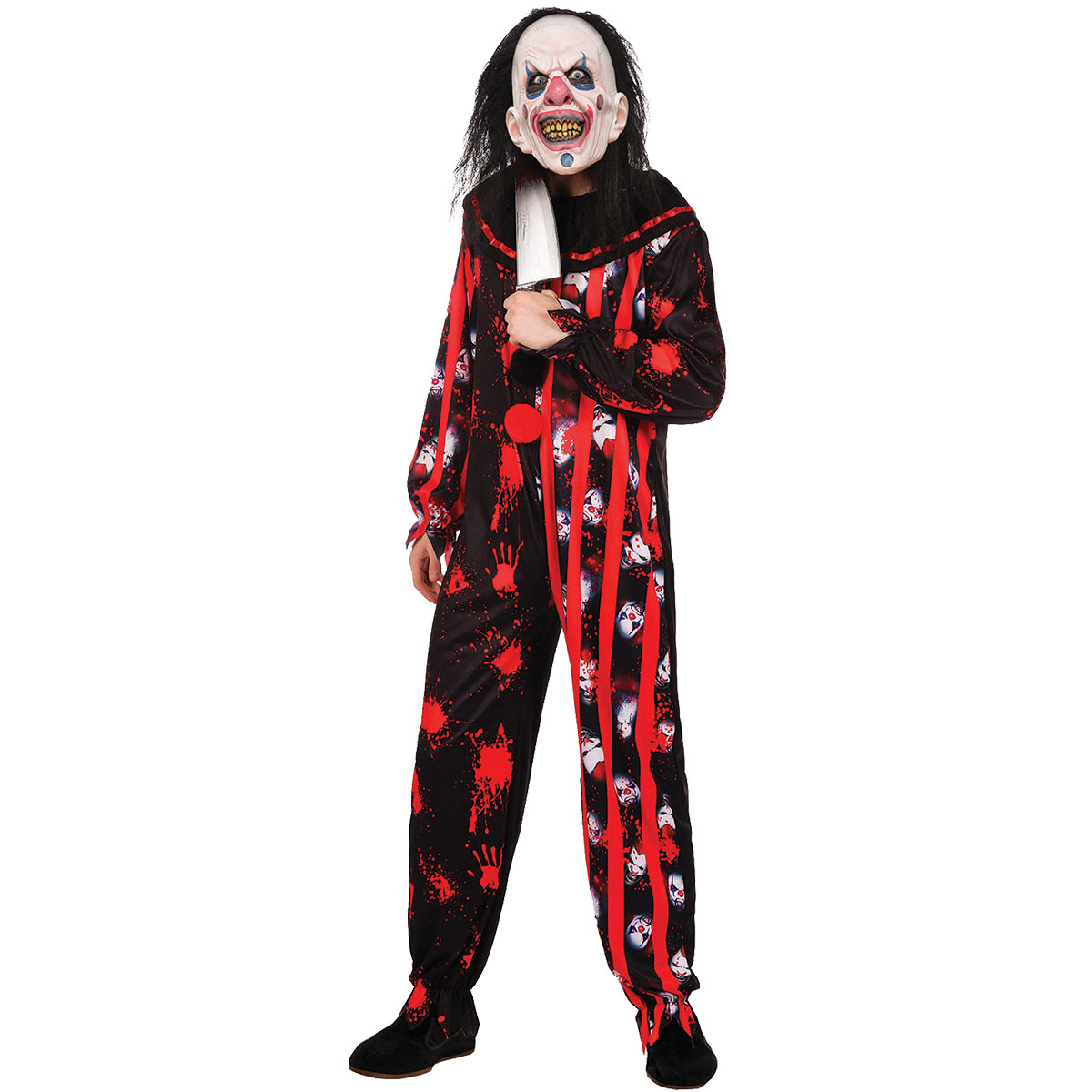 Dräkt, elak clown