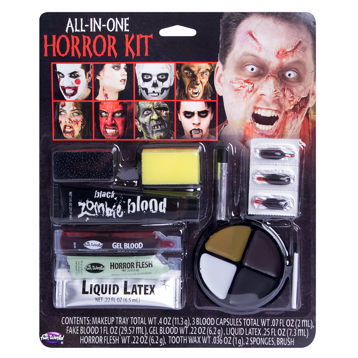 Komplett horror makeup