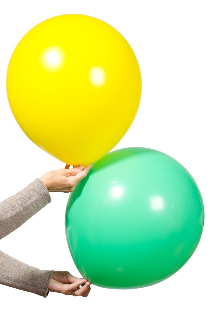 Jätteballonger 2 st