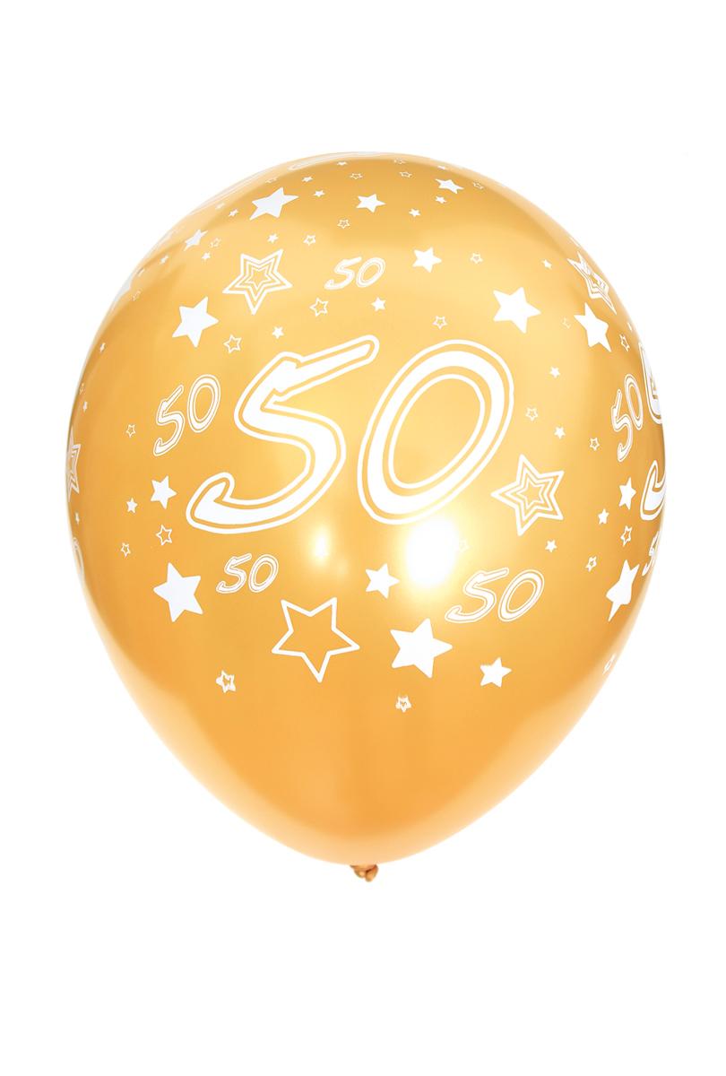 Ballonger, Guld 50 6 st