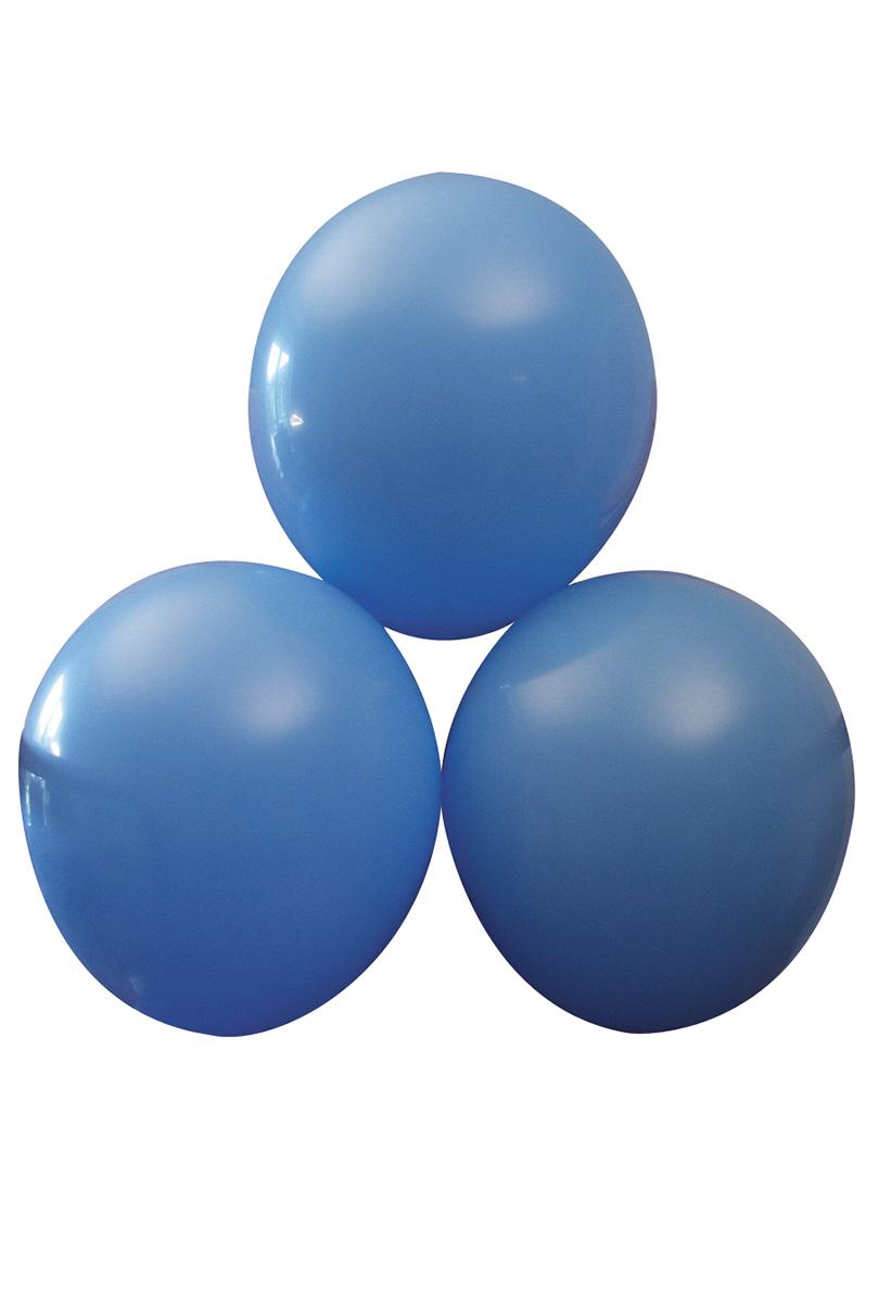 Blå ballonger,  25 st