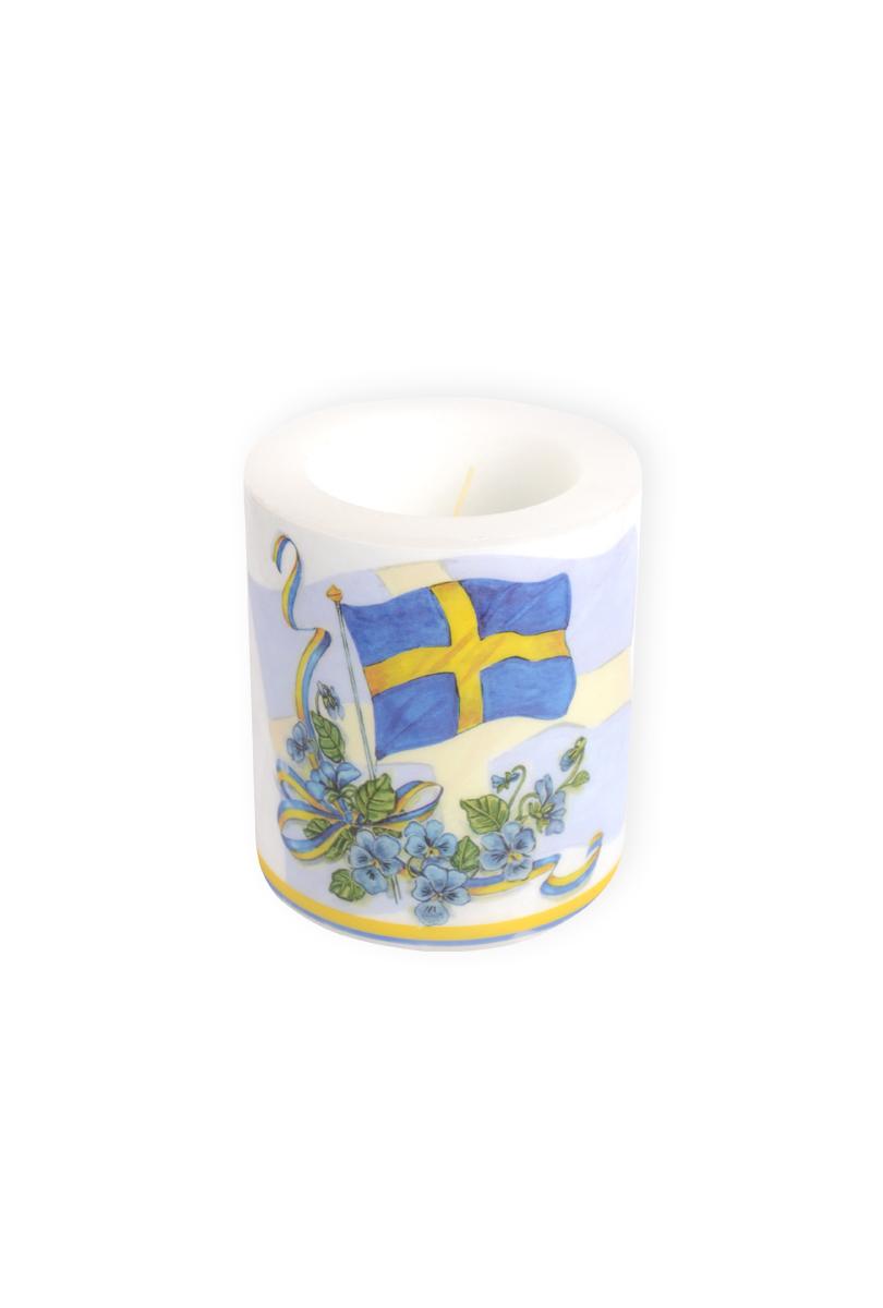 Ljus, svenska flaggan