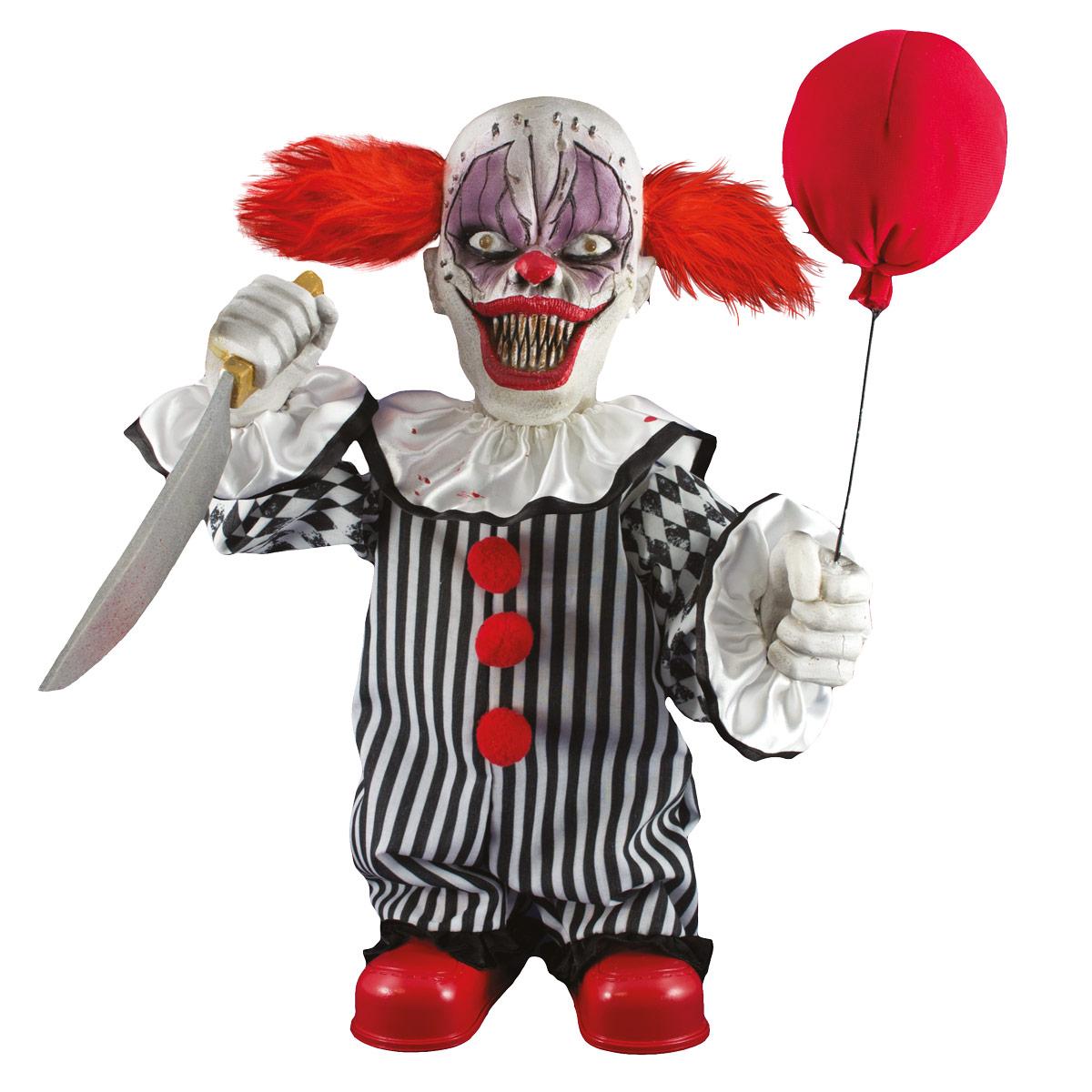 Prop  rörlig läskig clown