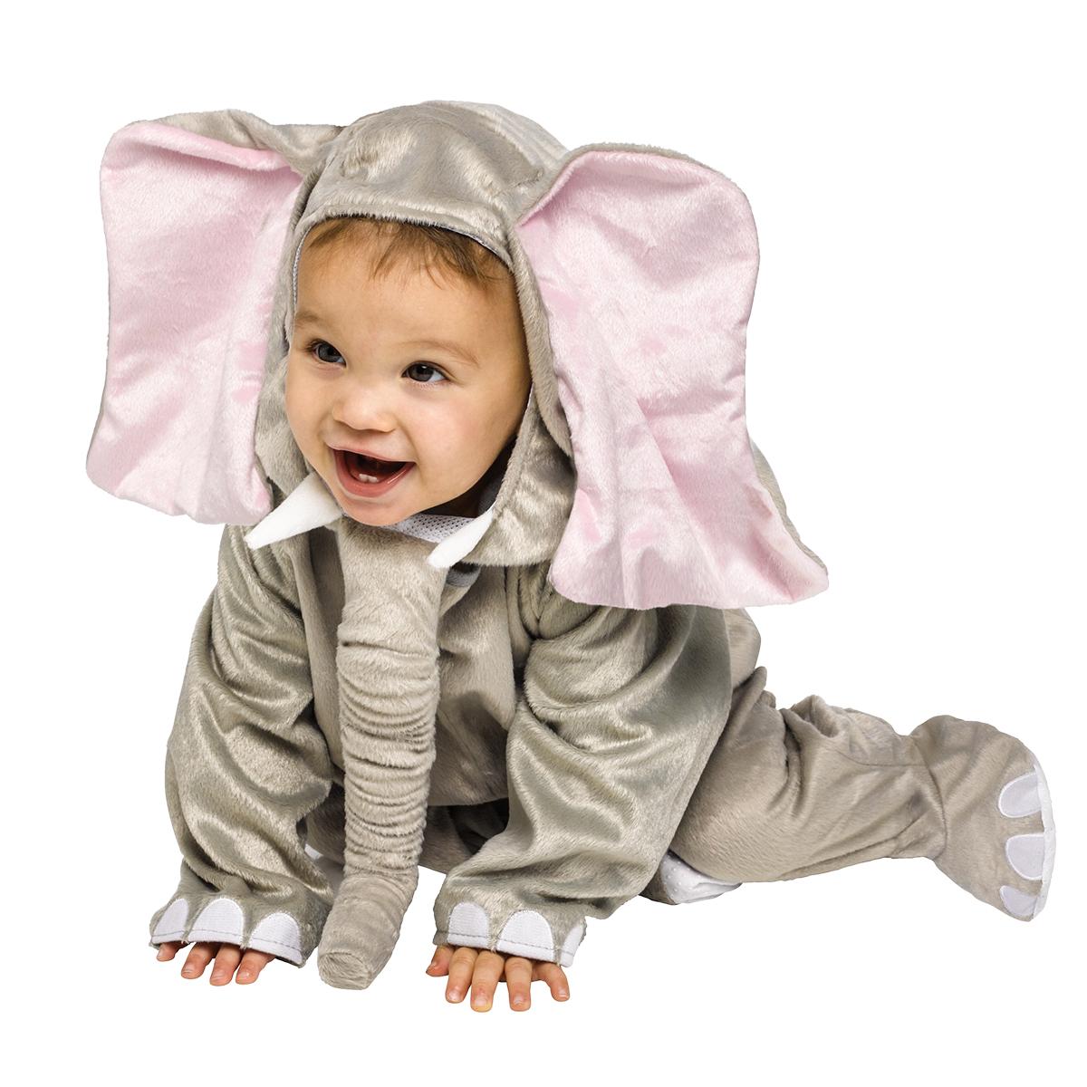 Bebisdräkt, elefant 12-24 mån