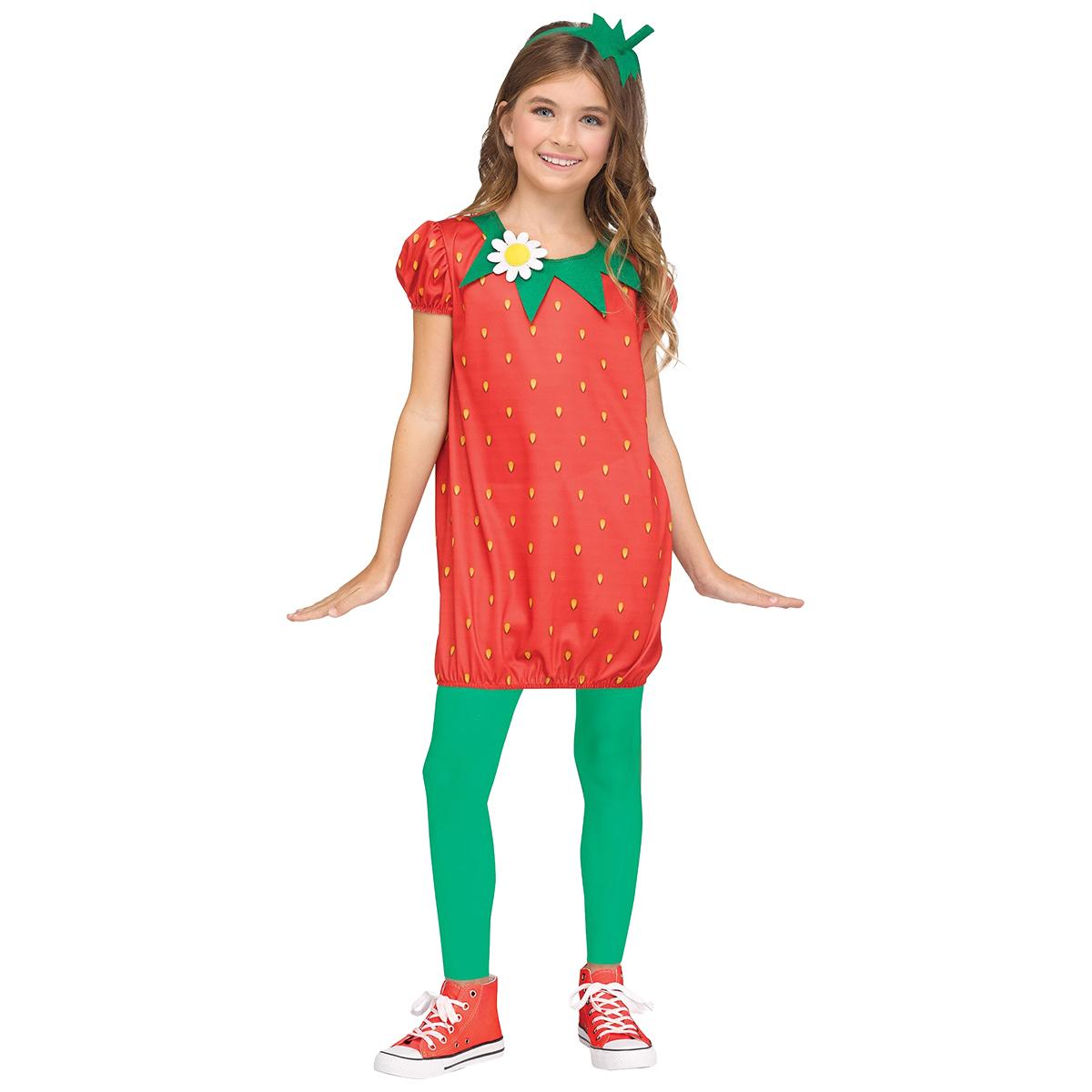 Barndräkt, jordgubbe