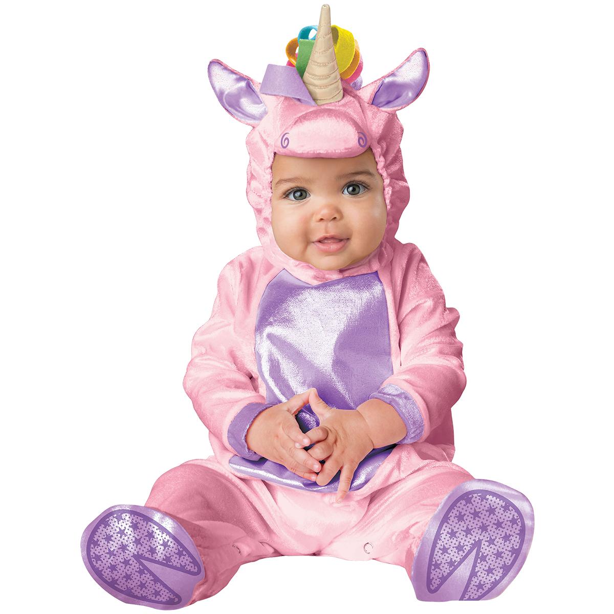 Bebisdräkt, enhörning rosa