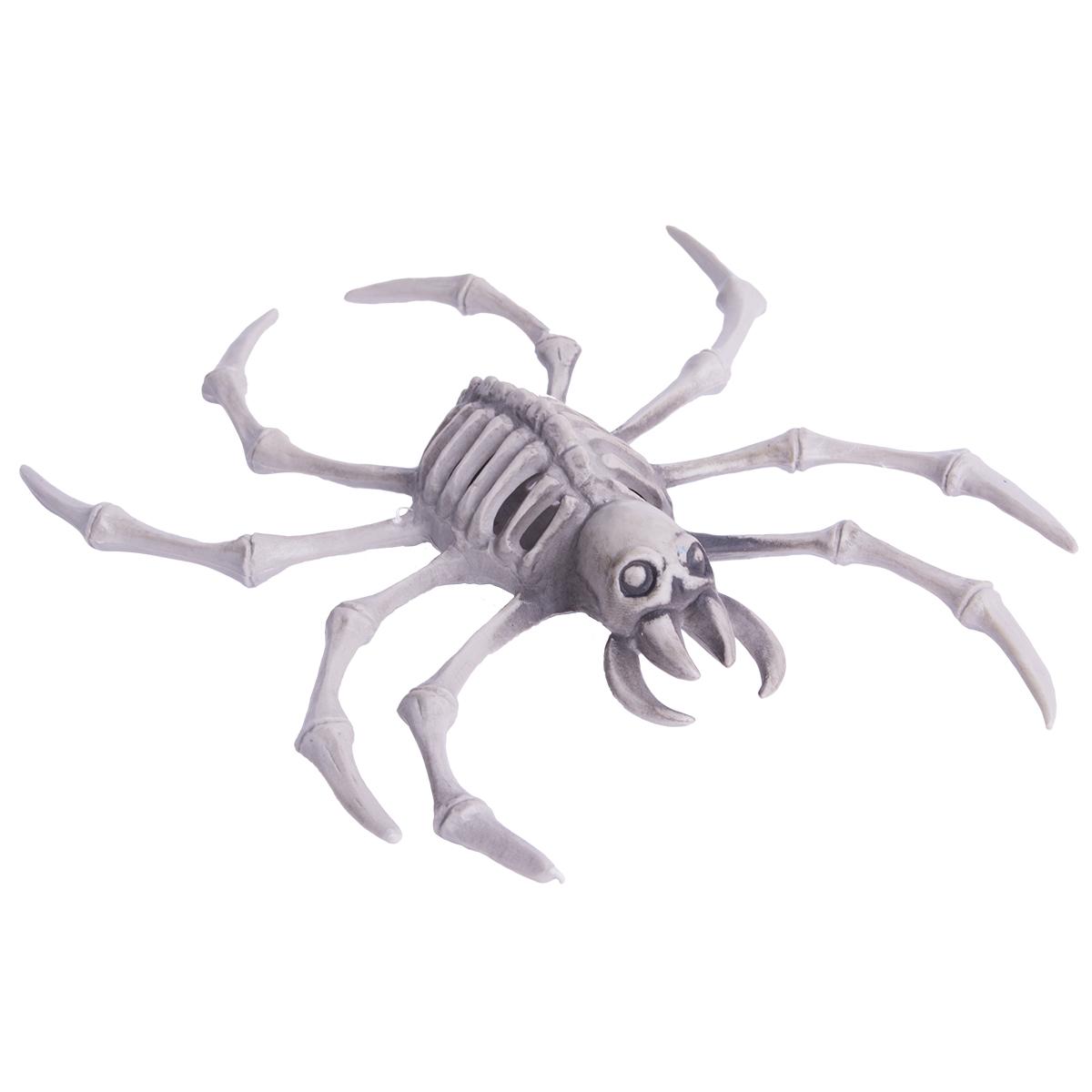 Spindelskelett dekoration ca 20 cm