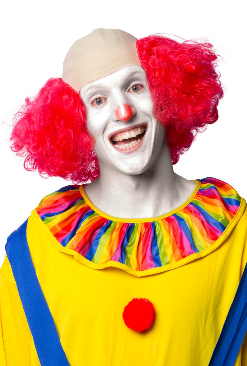 Clownflint med hår