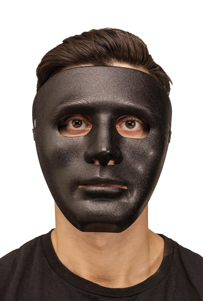 Ansiktsmask död  svart