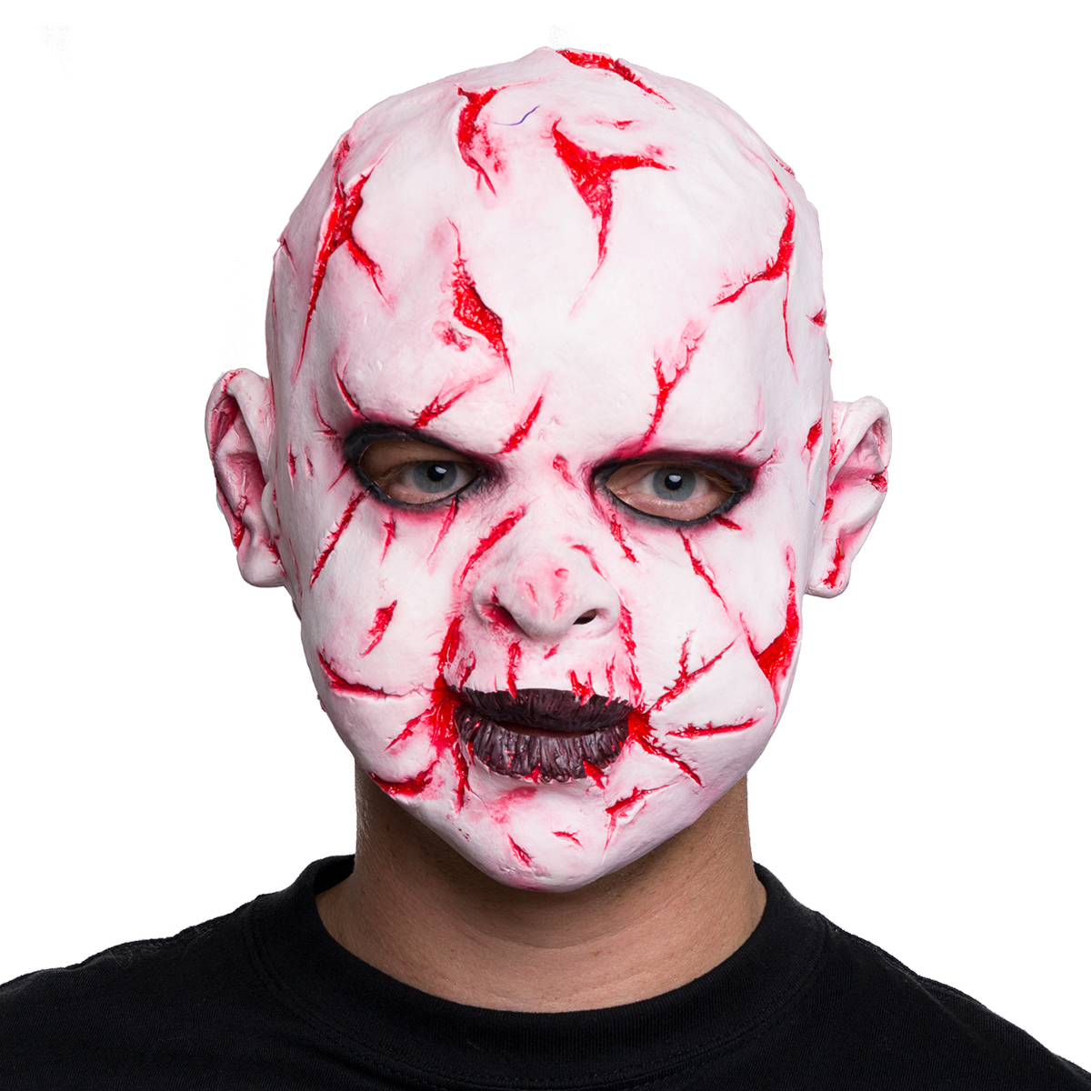 Mask, Sårskadad baby