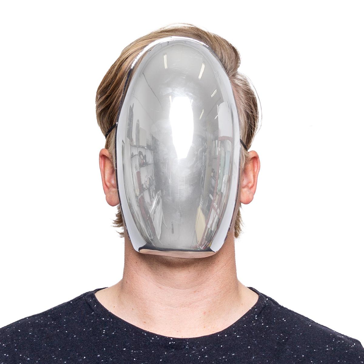 Mask, metall spegel