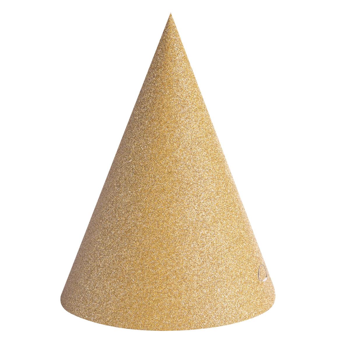 Partyhattar  guld