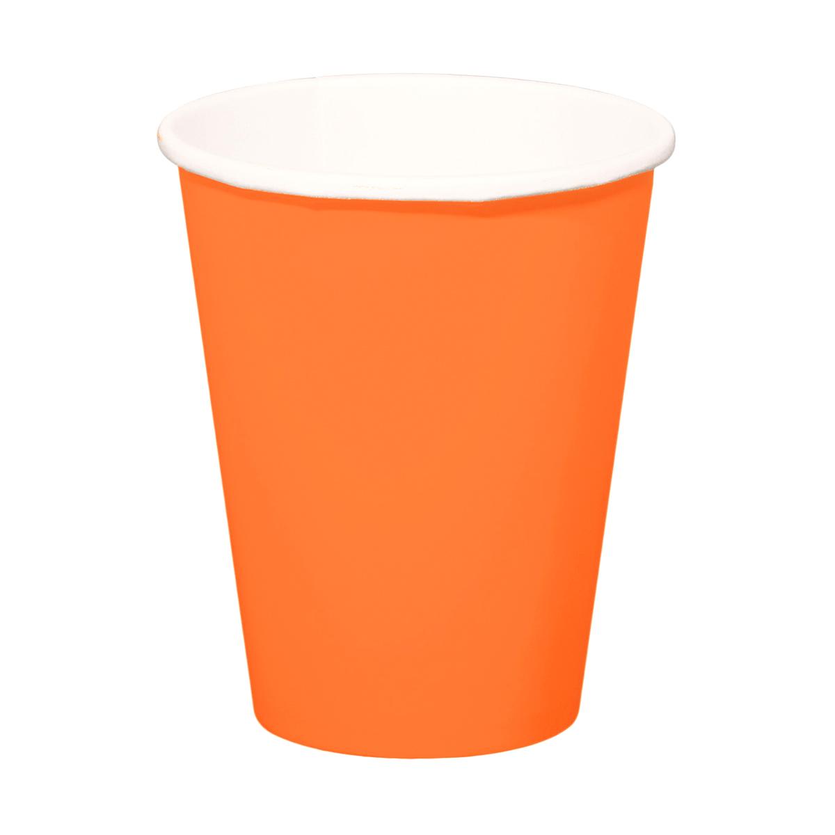 Mugg, orange 8st