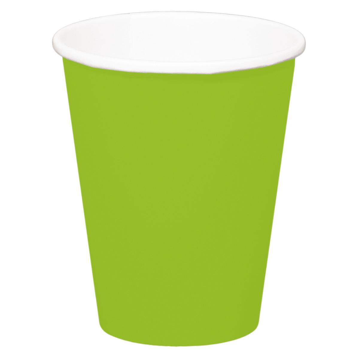 Mugg, grön, 8st.