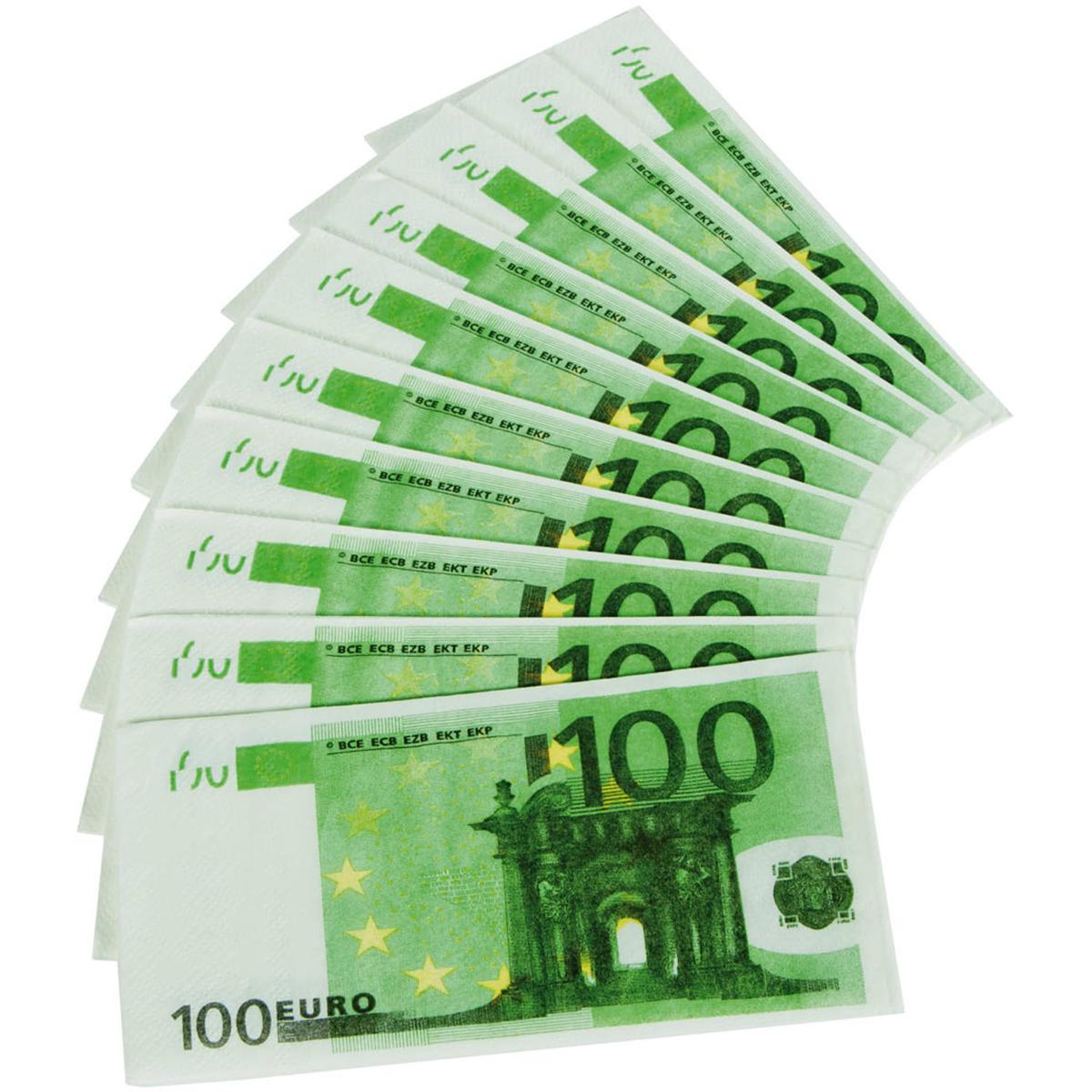 Eurosedlar, näsdukar
