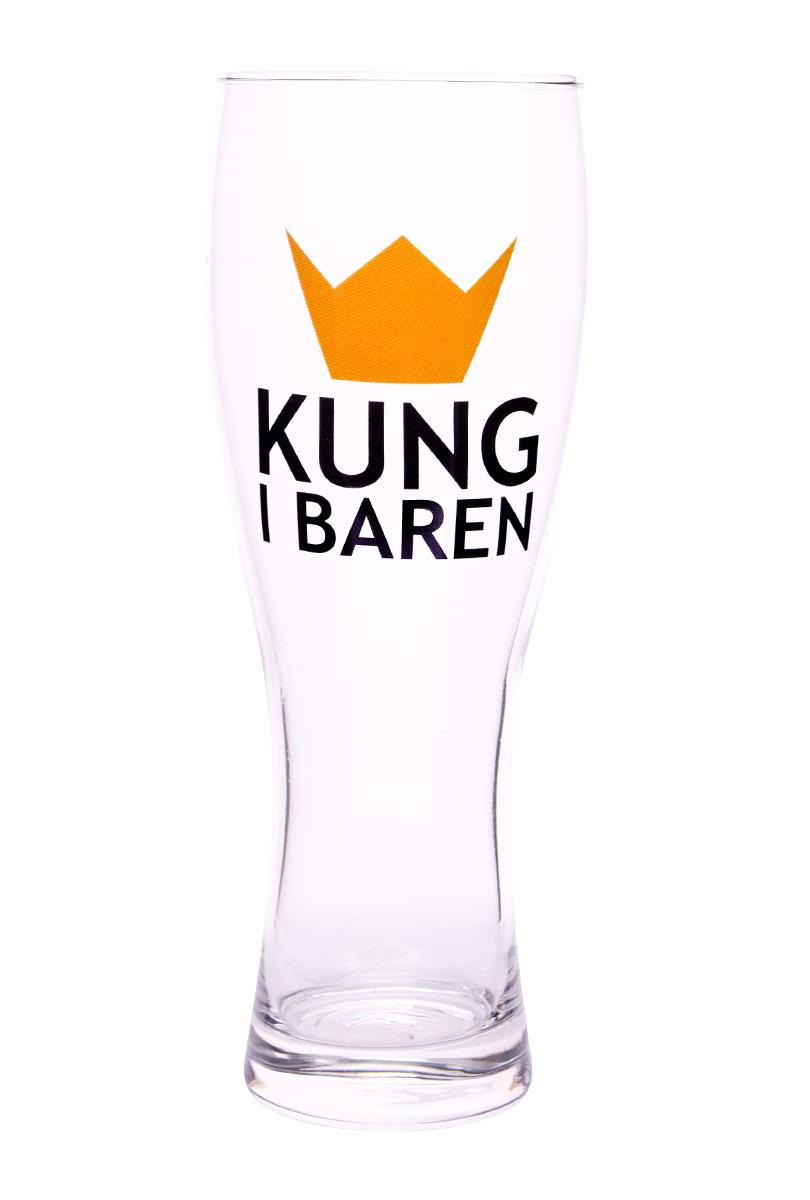 Ölglas - Kung i baren