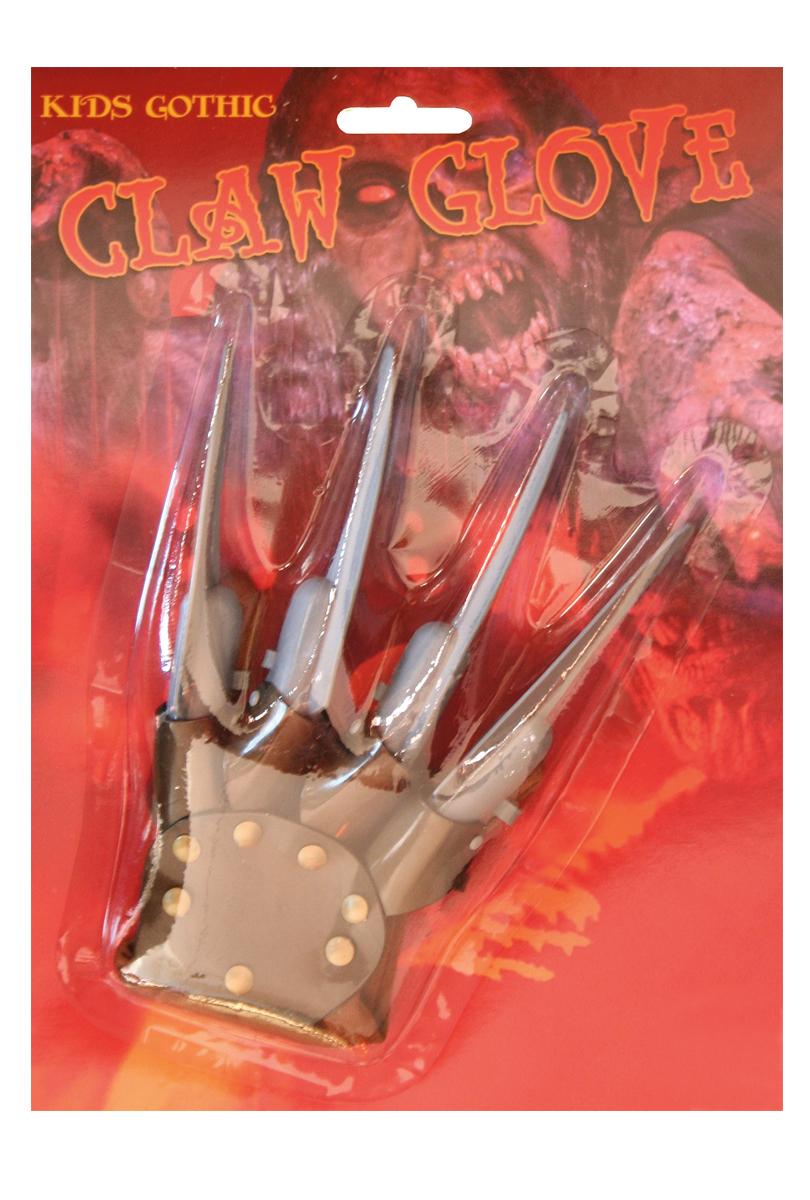 Handske med knivar barn