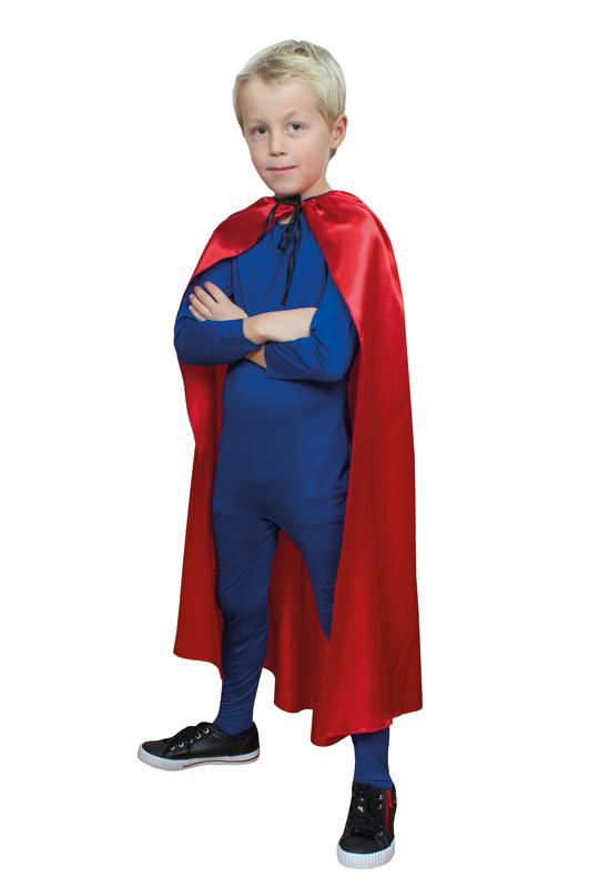 Röd cape, barn 90 cm