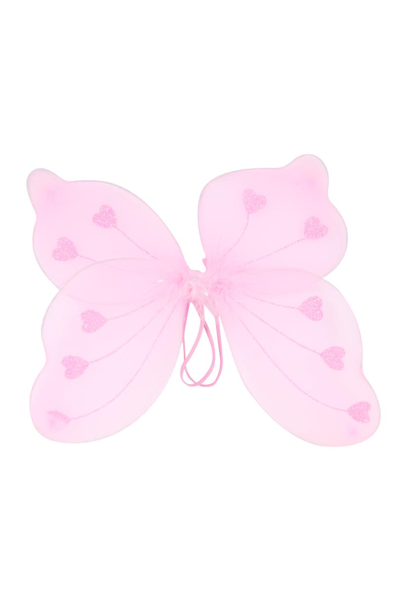 Fjärilsvingar, rosa