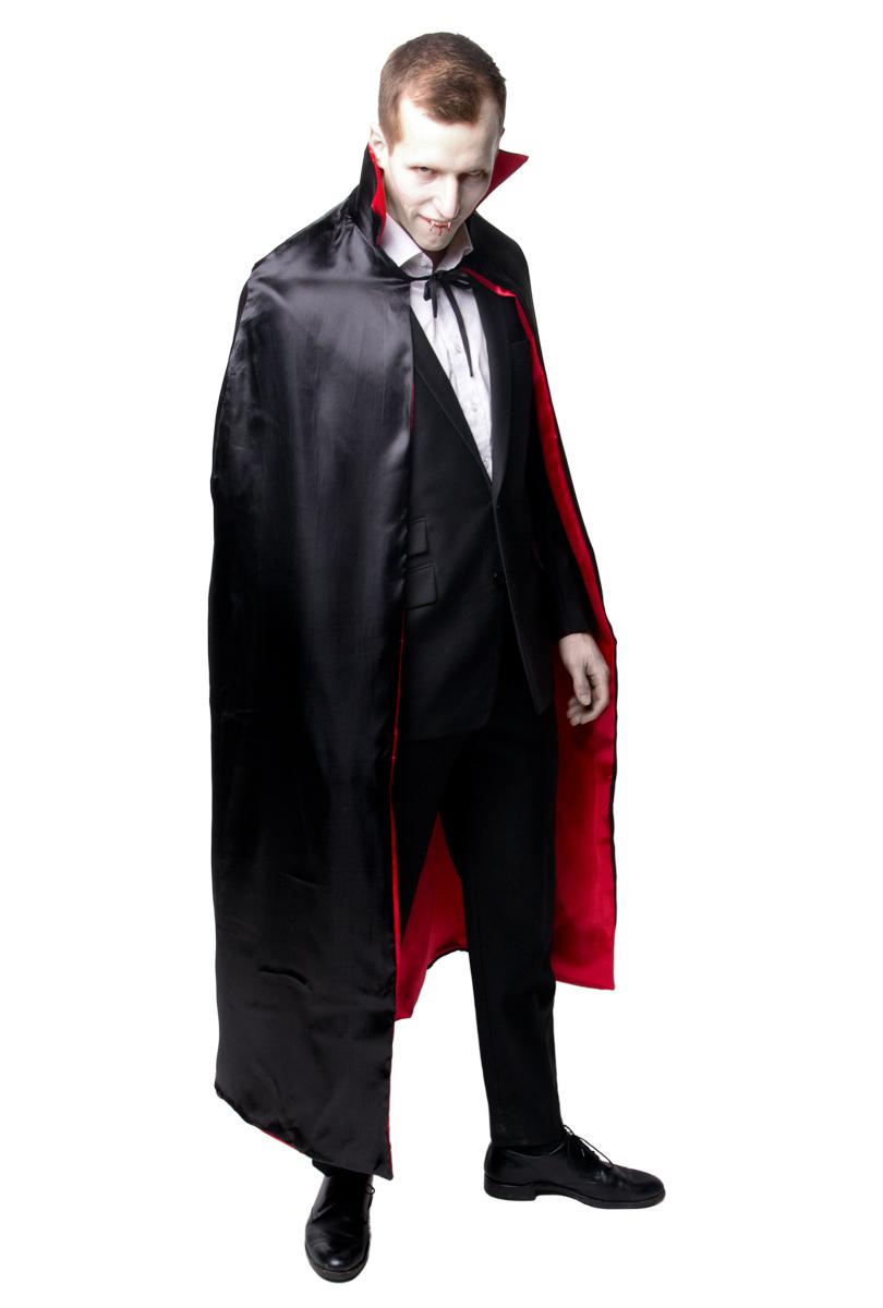 Dracula cape, satin