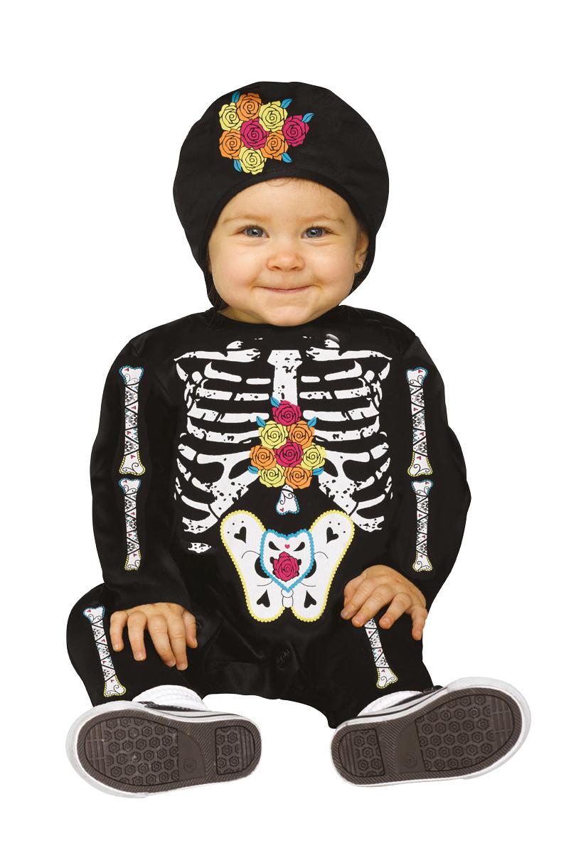 Barndräkt, Skelett med rosor
