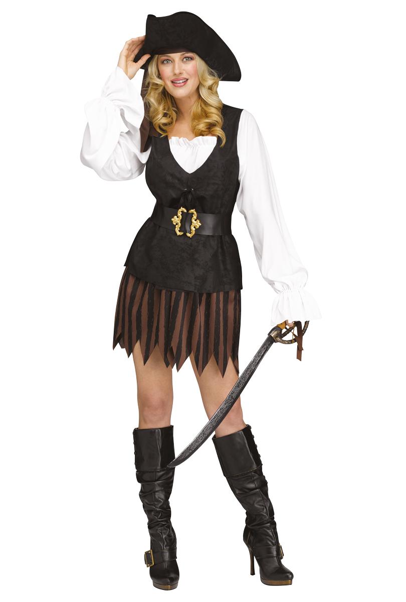 Dräkt, Rustik piratklänning