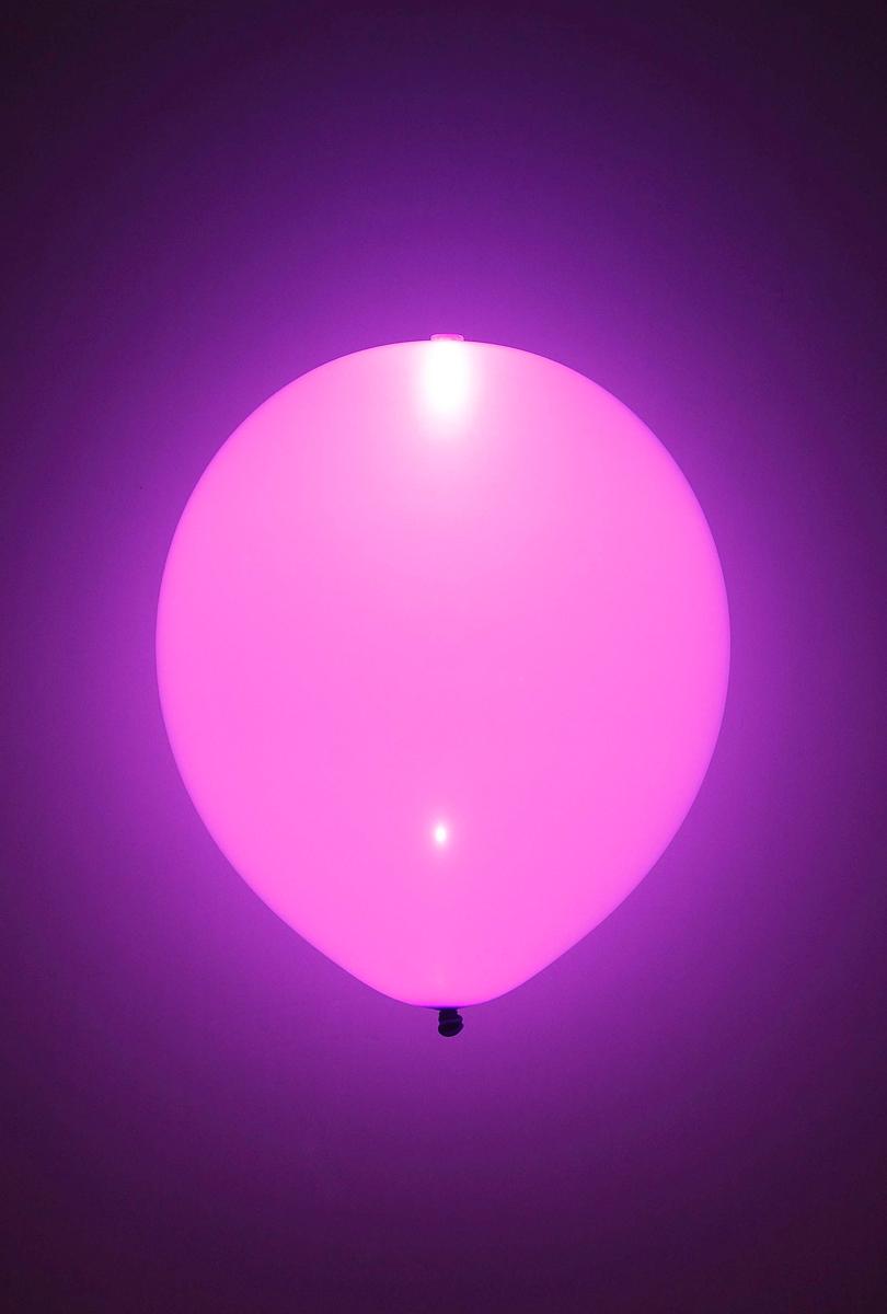 LED-ballonger, rosa