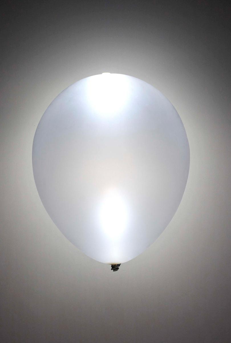 LED-ballonger, silvriga