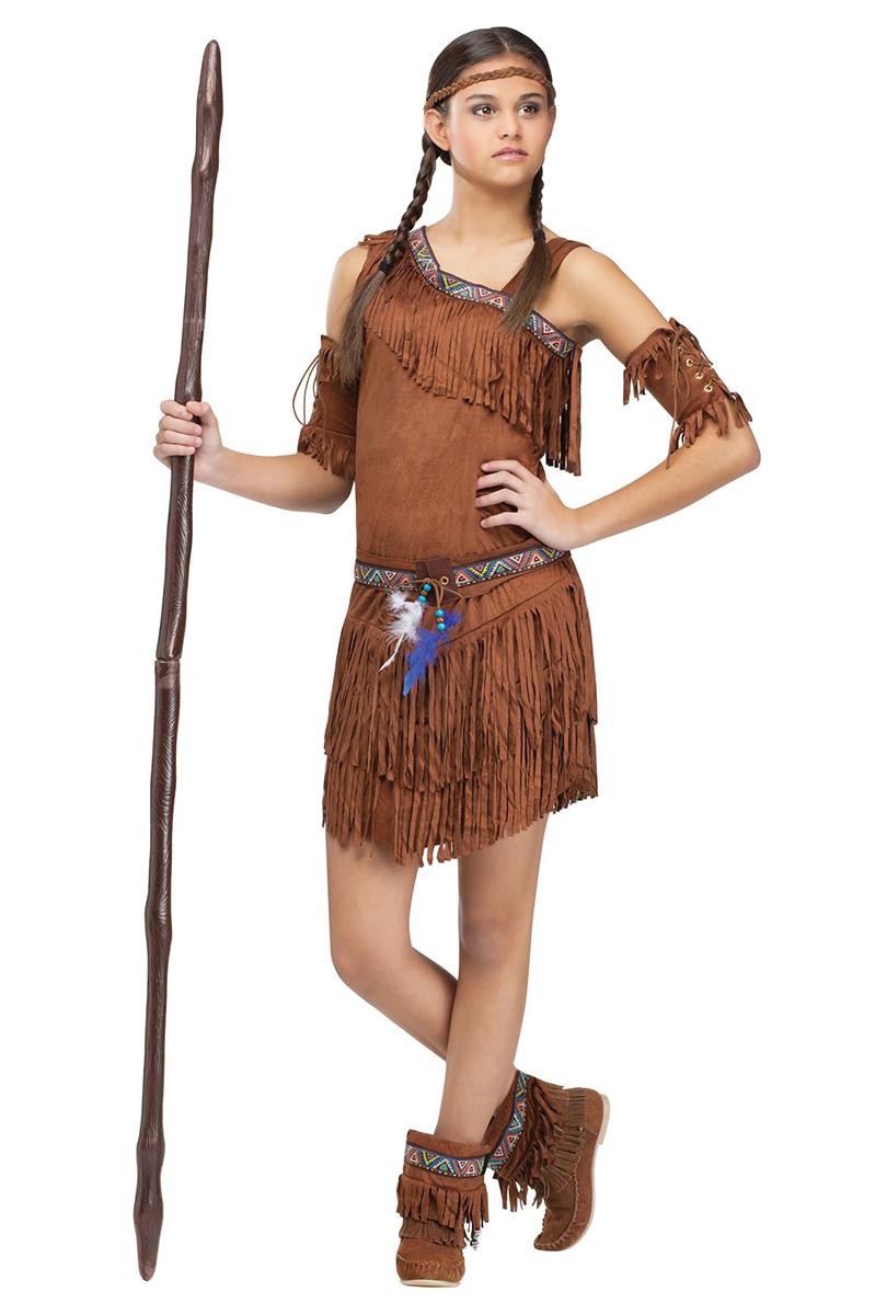 Indianklänning, teen
