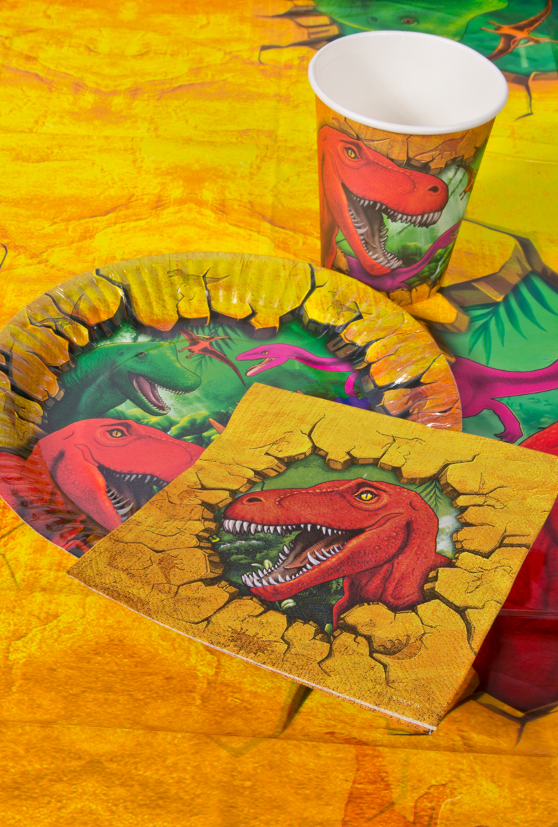 Partybox, dinosaurie