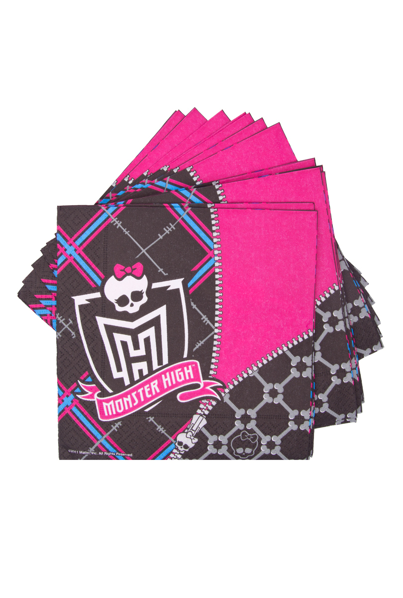 Monster High, servetter