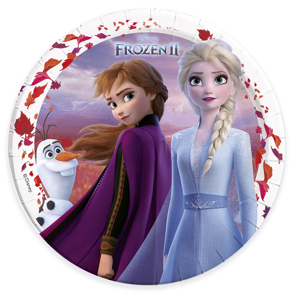 Tallrik  Frozen 2