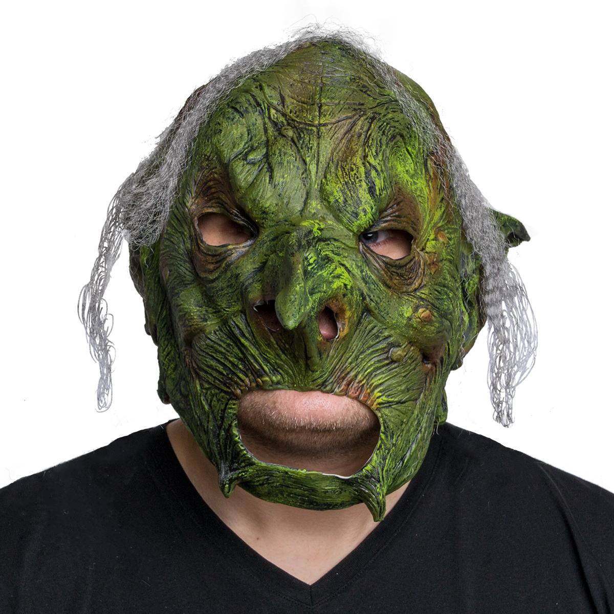 Mask, Hår grön