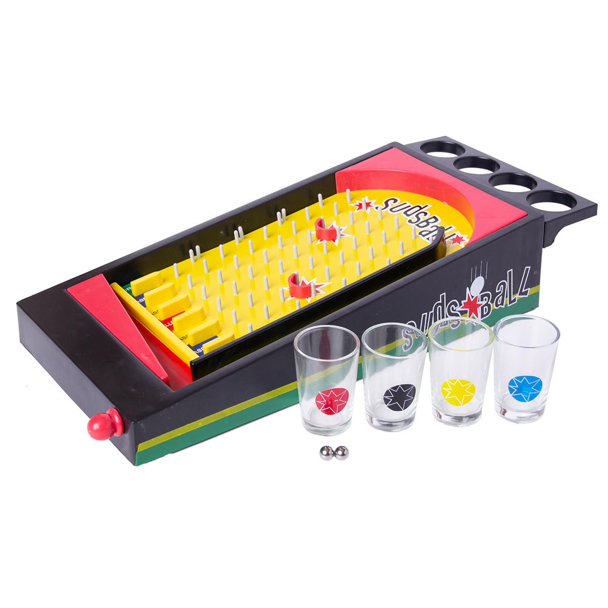Spel, studs ball shots