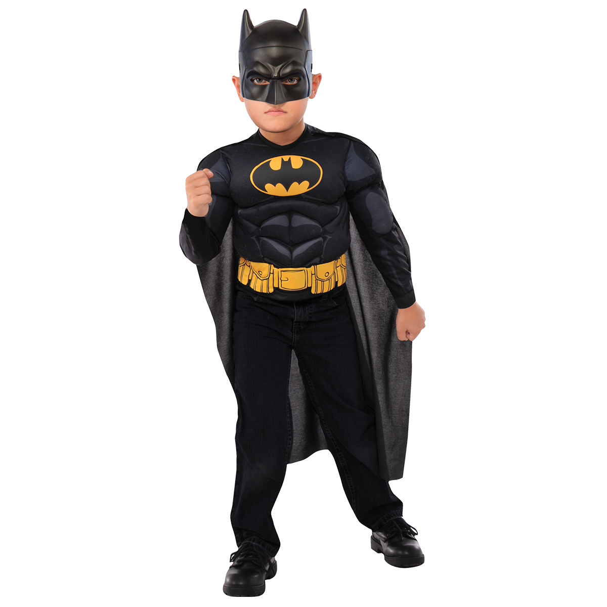 batman maskeraddräkt barn