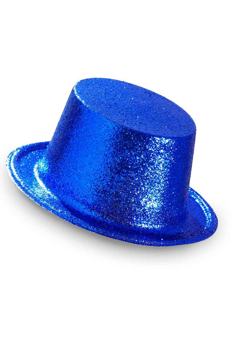 Hatt, blåglitter