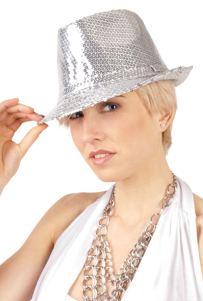 Hatt popstar, silverpaljett