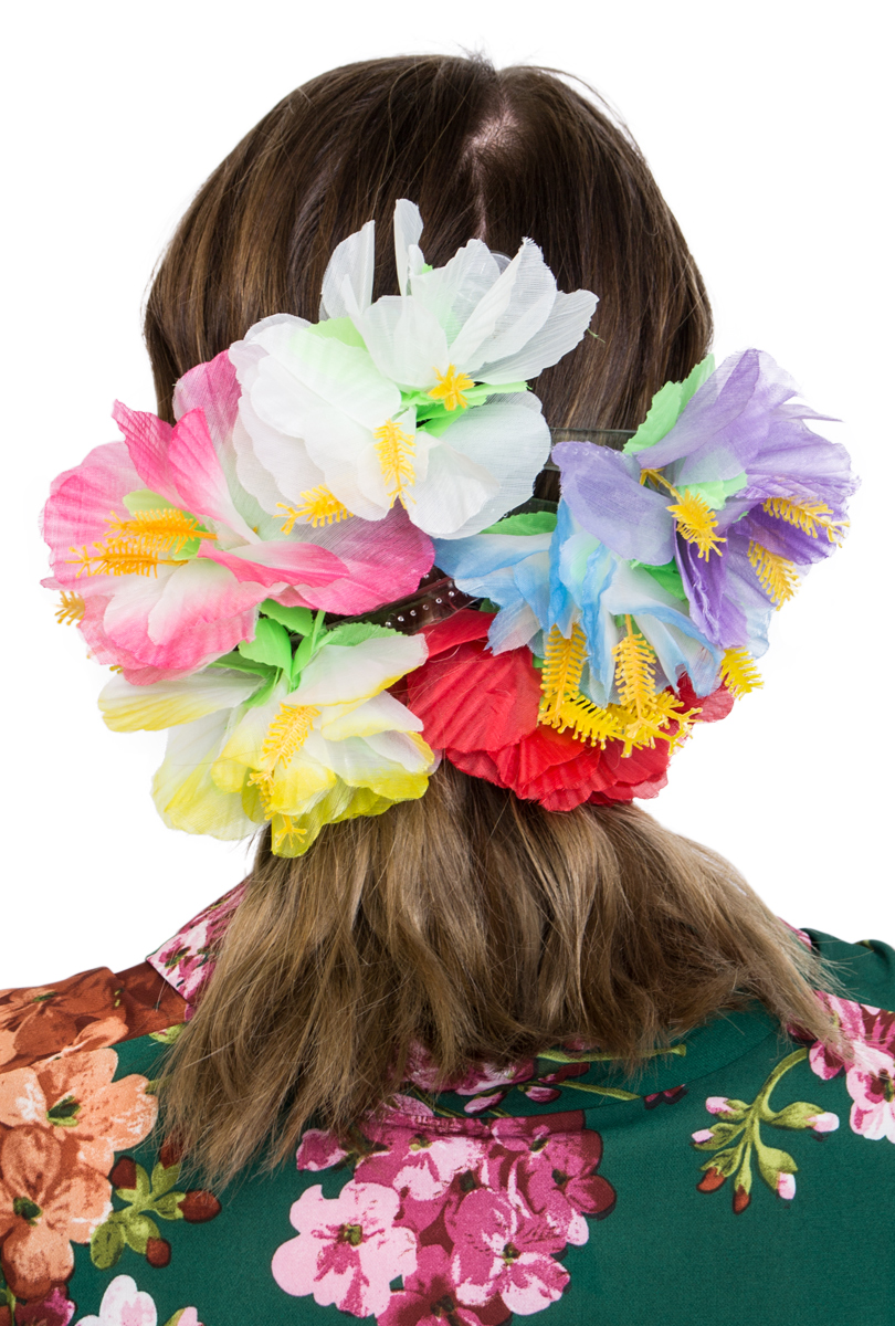 Hawaiiblomma för håret